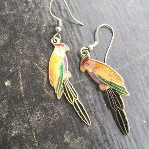 Jewelry - Parrot Earrings